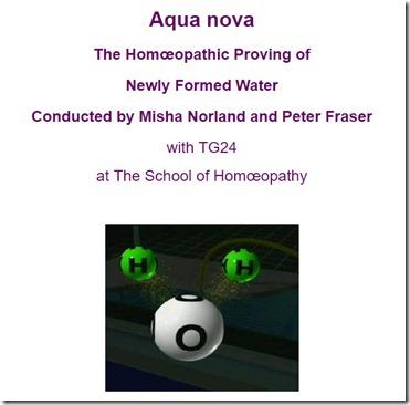 Agua nova