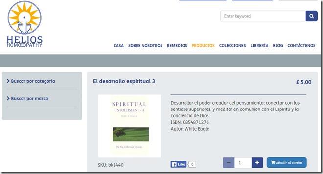 Desarrollo espiritual homeopatia