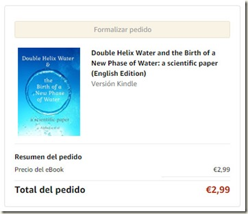 Doble Helix Water, del sr Lo