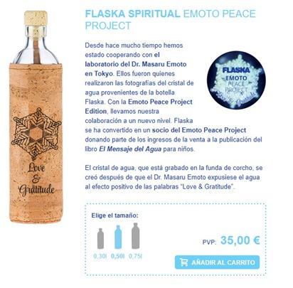Flaska de Emoto