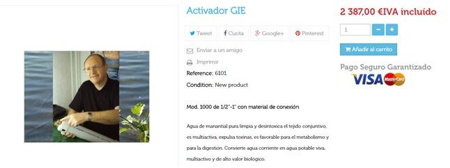GIE - un producto para Gilipollas Ingenuos Estafados