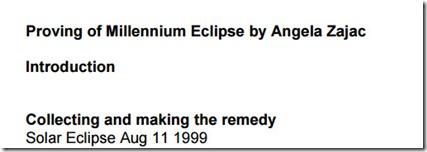 Millenium Eclipse