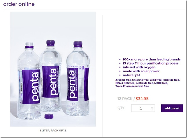 Pack de 12 botellas de 1 litro a 35 dolares